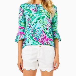 Lilly Pulitzer Buttercup resort white Shorts